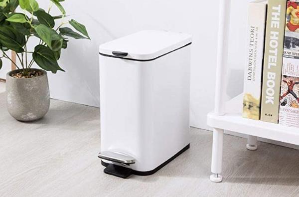 Best Rectangular Small Stainless Steel Trash Can